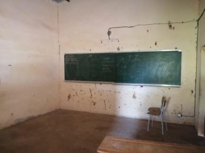 Una de las aulas