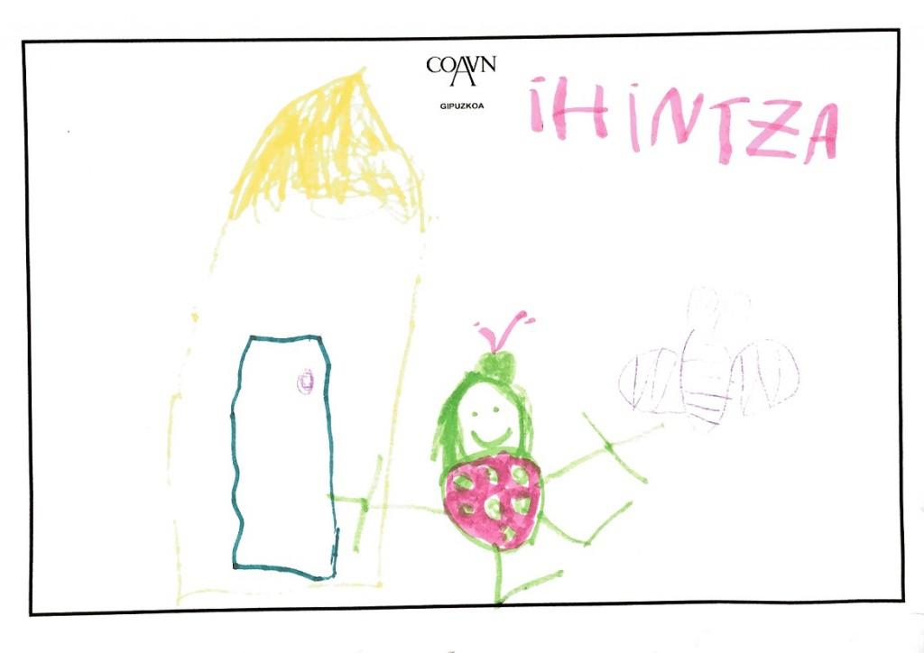 Ihintza. (4 años)